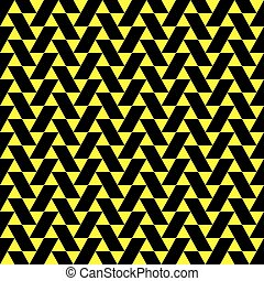 Seamless abstract vector geometric pattern