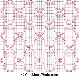 Seamless abstract vector pattern. Vector abstract background. Modern stylish texture
