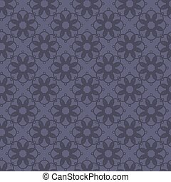 Seamless abstract vintage dark violet gray pattern