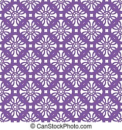 Seamless abstract vintage light lilac white pattern