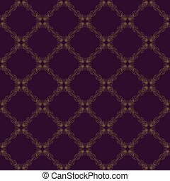 Seamless abstract vintage purple pattern