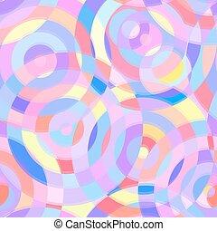 seamless, abstrakt, muster, mit, kreise