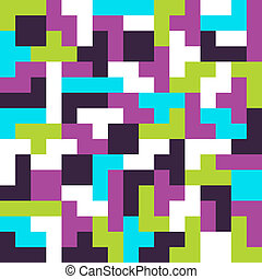 seamless achtergrond tetris spel - Tetris Planken
