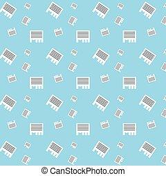 Seamless Advertisement Wall Paper Stripes Pattern - Seamless...
