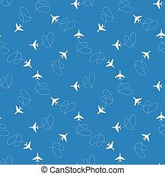 Seamless aircraft pattern