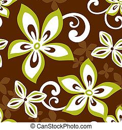 Seamless ALOHA Hawaii Pattern - Illustration of a seamless...