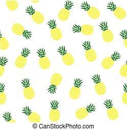 seamless, ananas