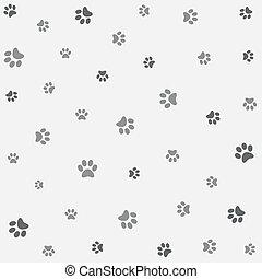 Seamless animal pattern, wallpaper
