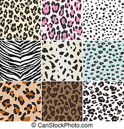 seamless animal print fabric