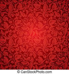 seamless, antieke , behang
