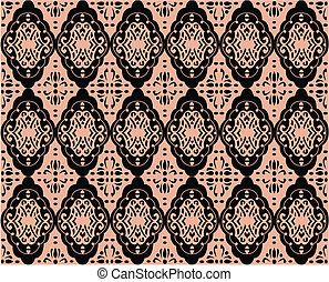 seamless antique ornate wallpaper