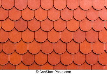 seamless, appelsin, roof.