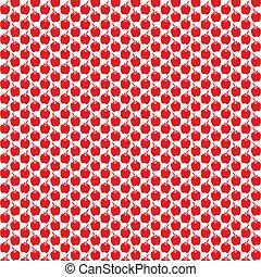 Seamless Apple Pattern