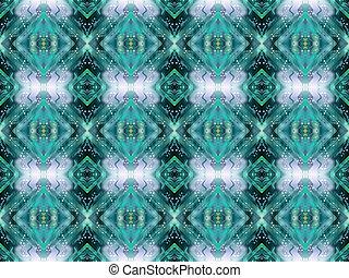 Seamless aquamarine abstract background