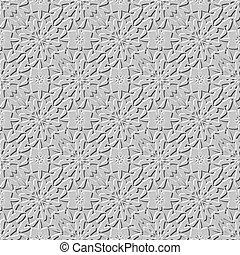 seamless arab stone arabesque background