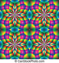 Seamless arabesque mosaic