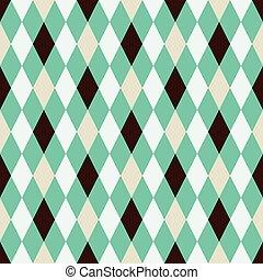 Seamless argyle pattern background
