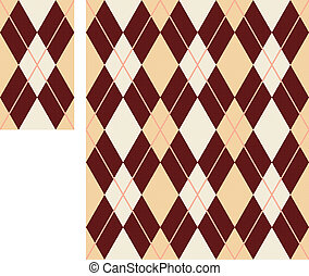 seamless argyle pattern (vector)