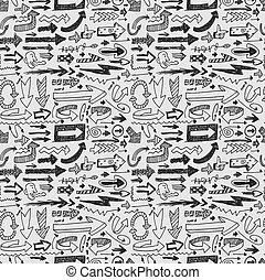 seamless arrow pattern  - seamless arrow pattern