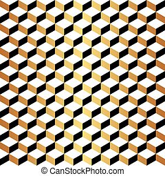 Seamless Art Deco geometric wallpaper pattern