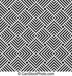 Seamless Art Deco pattern background.