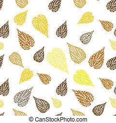 Seamless autumn background