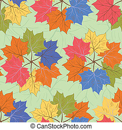 Seamless autumnal pattern