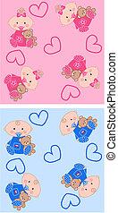 seamless baby pattern