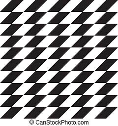 Seamless background alternating parallelograms