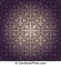 Seamless background baroque vector