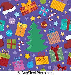 Seamless background Christmas 2