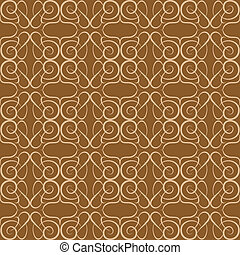 Seamless background Floral Pattern