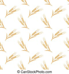 Seamless background image colorful vegetable food ingredient barley