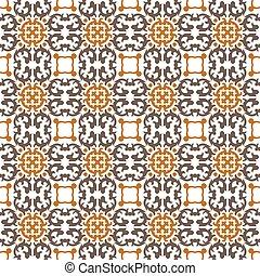 Seamless background image of kaleidoscope geometry pattern.