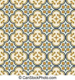 Seamless background image of round curve cross flower kaleidoscope