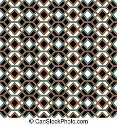 Seamless background image of vintage cross square check diamond pattern.