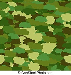 Seamless background in green khaki colors
