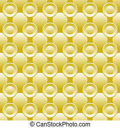 Seamless background of circles