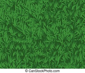 seamless background of green grass, vector