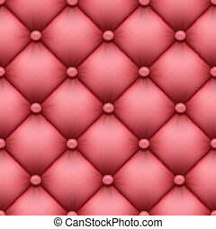 seamless background of leather upholstery