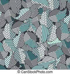 Seamless background of leaves 5