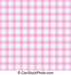 Delightful Seamless Background Of Pink Plaid Pattern