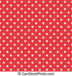 Seamless background of polka dot pattern
