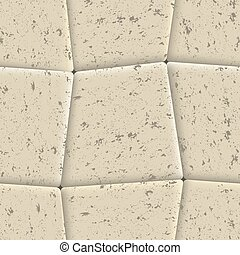 Seamless background of sidewalk tiles, vector illustration.