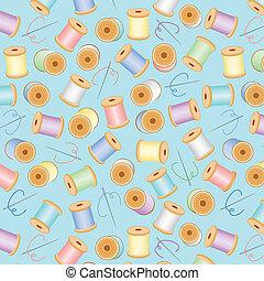 Seamless Background, Pastel Aqua