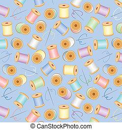 Seamless Background, Pastel Blue