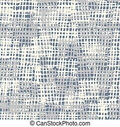 Seamless background pattern. Burlap vector. Imitation of...