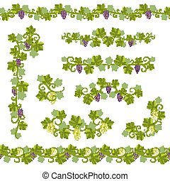 Seamless Background Pattern Vine - Seamless Background...
