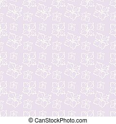 seamless background. pattern with stylized flowers.