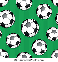Seamless background soccer theme 1